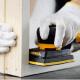Mirka Deos vlakschuurmachine houtbewerking