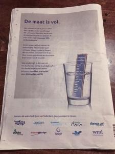 actie drinkwaterbedrijven