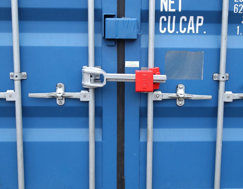Container security - container lock